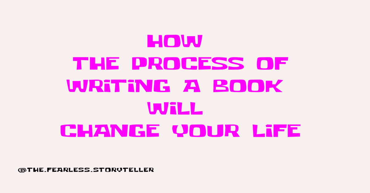 process-of-writing-a-book