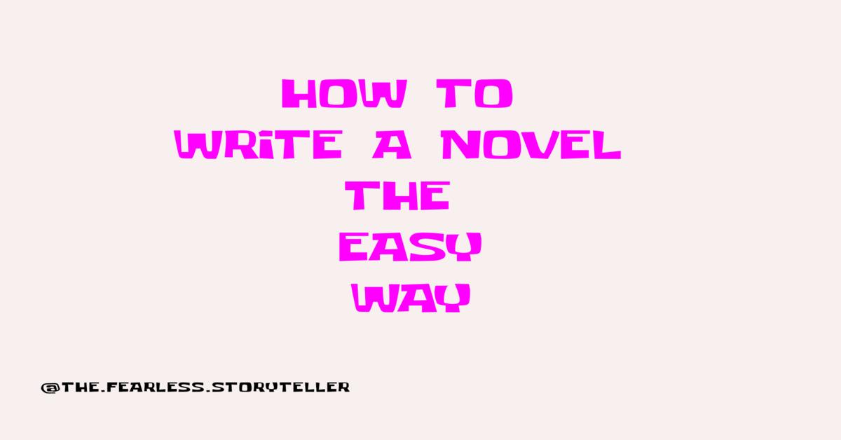 how-to-write-a-novel